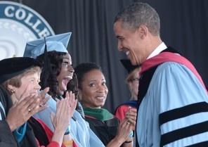 Obama's Barnard commencement speech — text