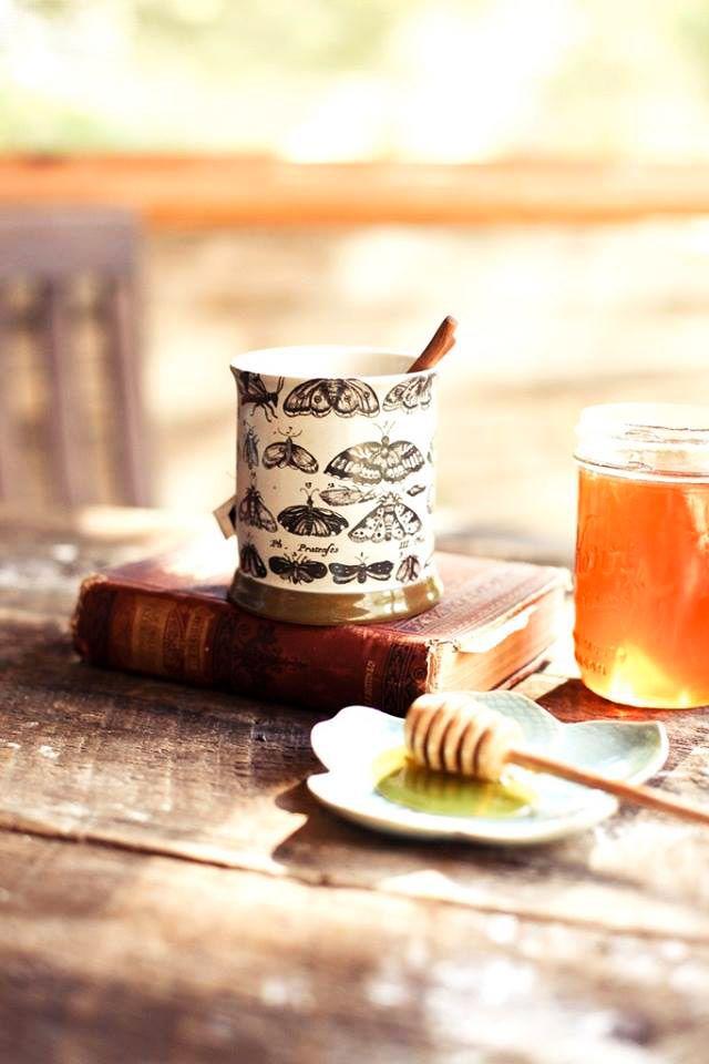 Tè nero #biologico da commercio equo e solidale. Mai provato con il miele? ☺  www.ecomarket.eu
