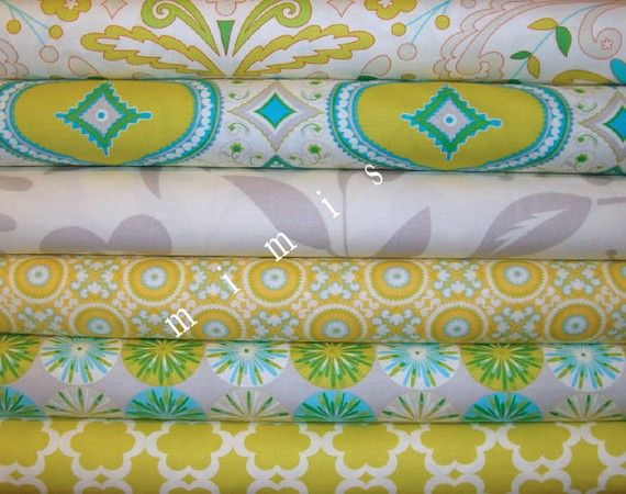 Dena Designs Fabric Kumari Garden 6 Half Yard Bundle