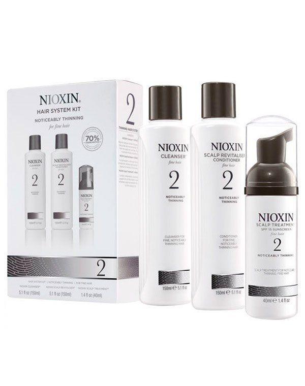 Набор система 2 Nioxin купить от 1919 руб в Созвездии красоты