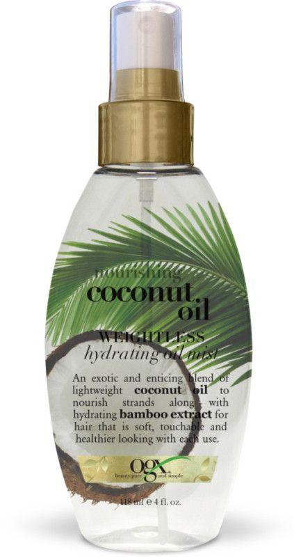 OGX Nourishing Coconut Oil Weightless Hydrating Oil Mist Ulta.com - Cosmetics, Fragrance, Salon and Beauty Gifts