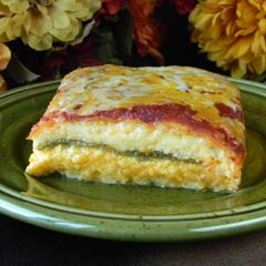 Chile Rellenos Casserole...,just like mine but I use Rotel instead of tomato paste