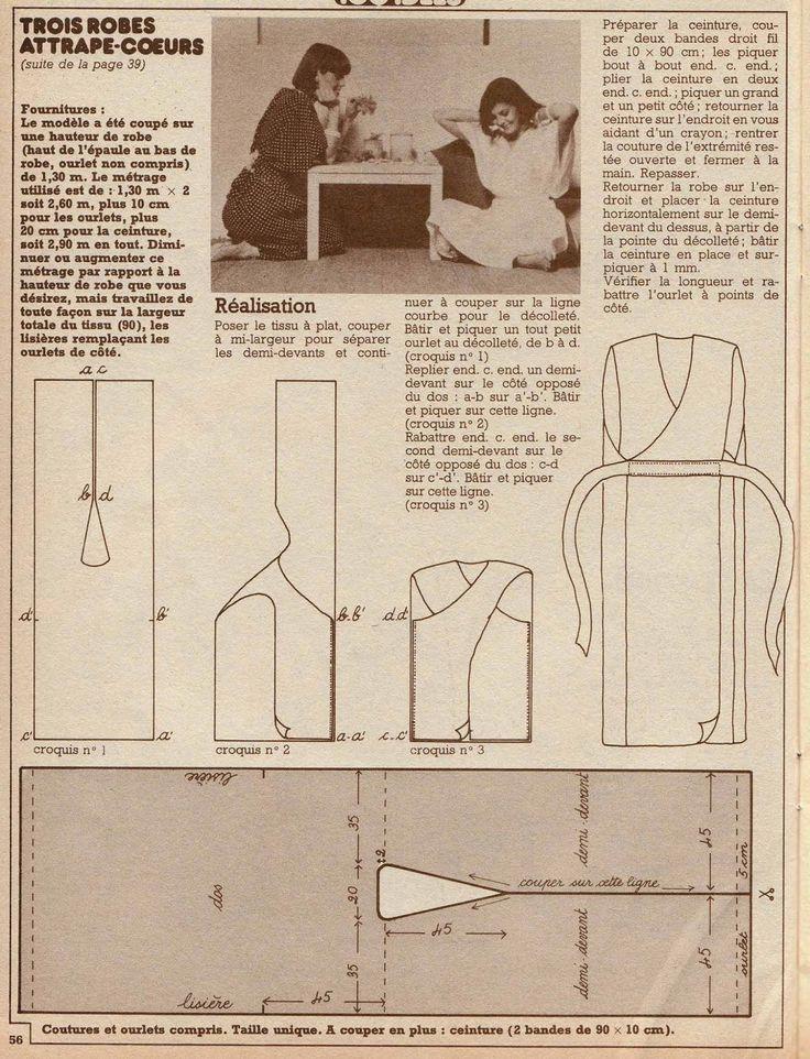 modèle tricot annees 70