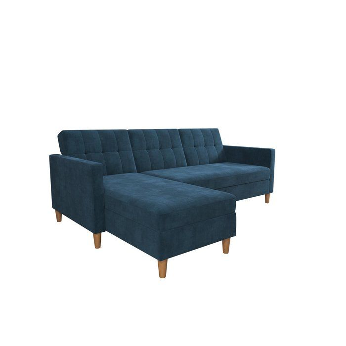 Cordell Reversible Sleeper Sectional With Ottoman Reviews Joss Main Futon Sectional Furniture Sectional Sofa