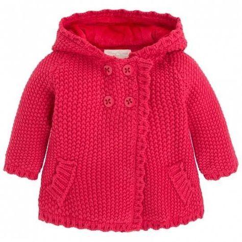 Knitting PATTERN Baby Jacket B
