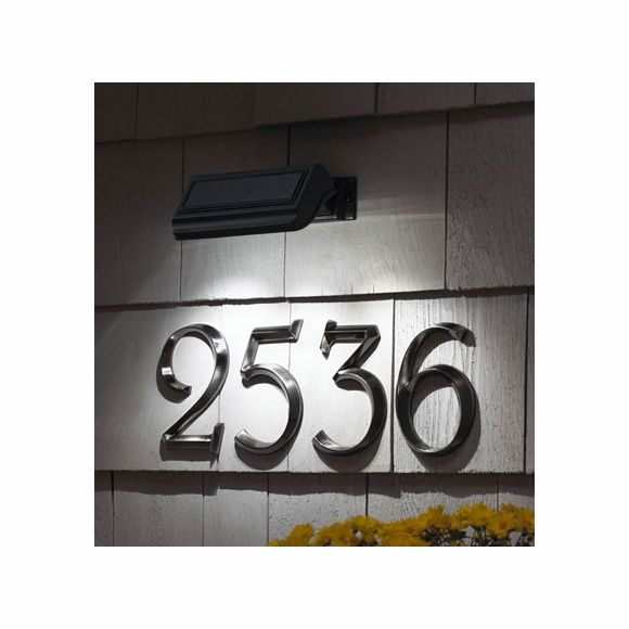 Solar Light For Address Signs House Numbers In 2020