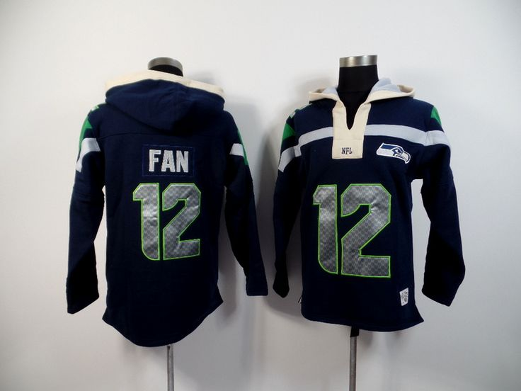 Men's Nike NFL Seattle Seahawks #12 Fan 2015 New Navy Hoodie http://www.wholesalejerseyclearance.com/nfl-seattle-seahawks_gc161_1_15.html