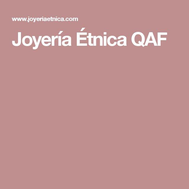 Joyería Étnica QAF