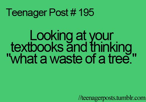Especially when you only use it for the questions at the end of the chapter and the glossary