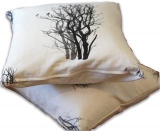 Mulga Shadow Square Cushion by Sophie Seeger