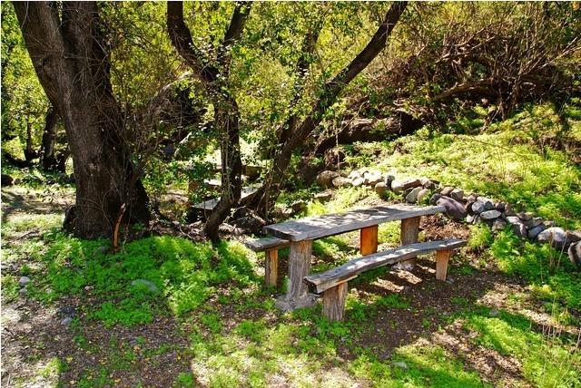 Donde acampar cerca de Santiago