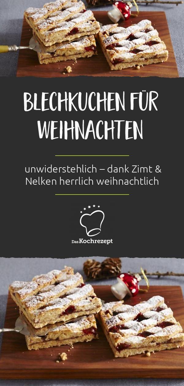 Blechkuchen für Weihnachten – dasKochrezept.de