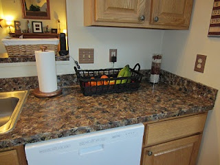 Here Are Some More Pictures Of My Kitchen Countertop Redo. Handpainted Faux  Granite! What