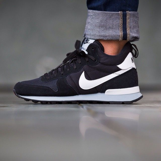 Nike WMNS Internationalist Mid (black / white) - 43einhalb Sneaker Store Fulda