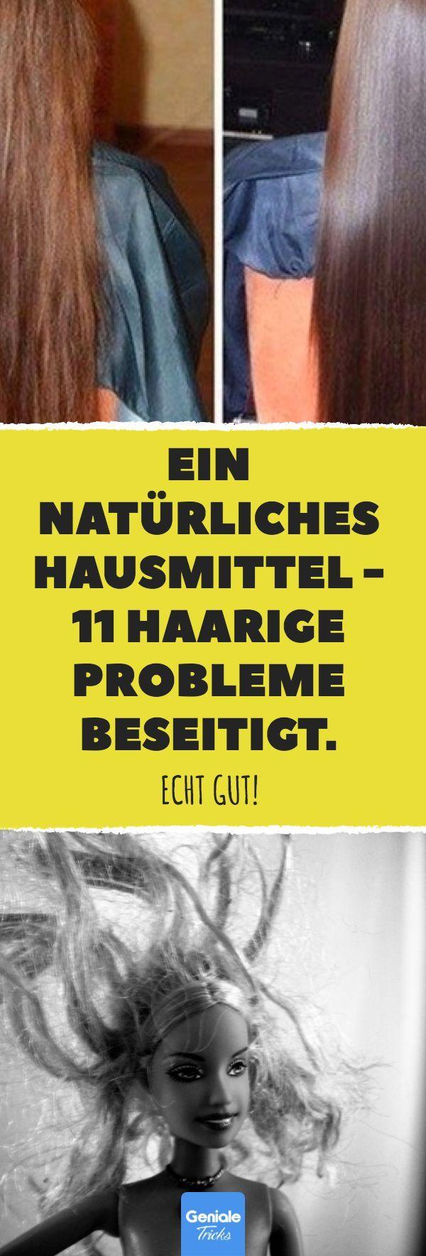Ein natürliches Hausmittel – 11 haarige Probleme beseitigt. #haare #frisur #sha