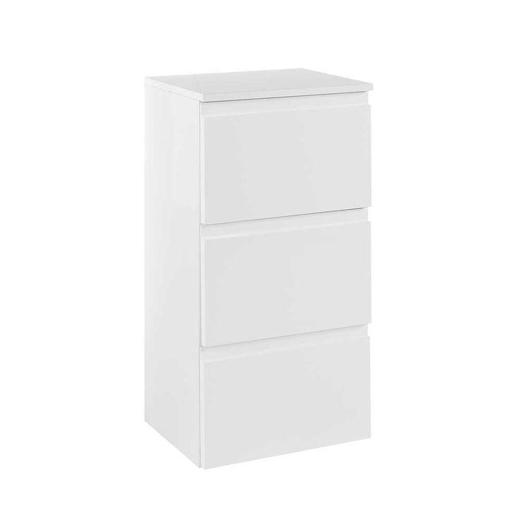 Badezimmer Unterschrank In Hochglanz Weiß 40 Cm Breit Jetzt Bestellen  Unter: Https://