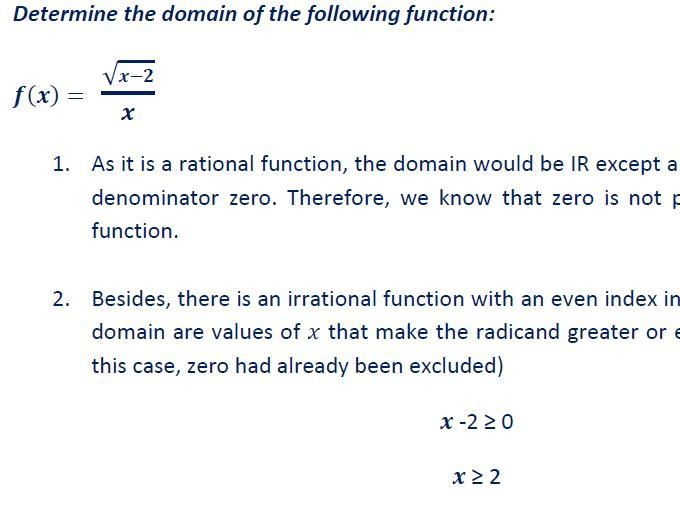 Domain Of A Function Includes Answer Key Rational Function Answer Keys Domain