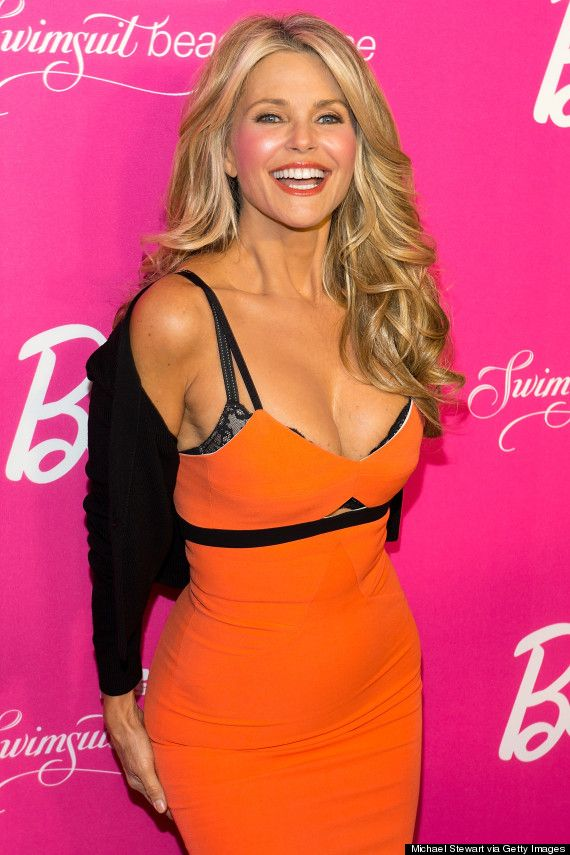 Christie Brinkley Wows At Sports Illustrated Party Hair