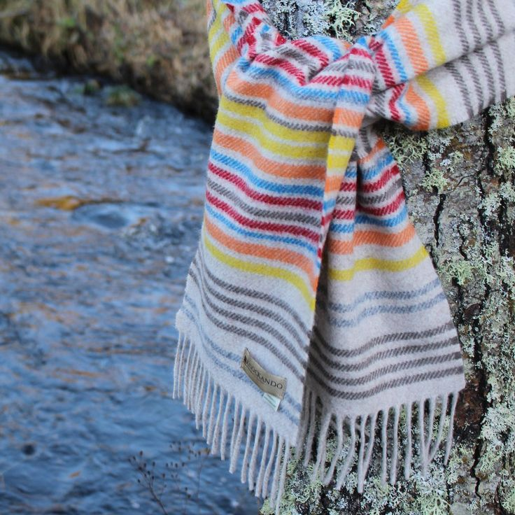 Pretty woolen scarf