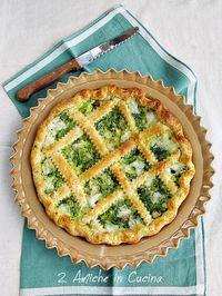 Torta Salata con Cime di Rapa, Pancetta e Asiago   2 Amiche in Cucina