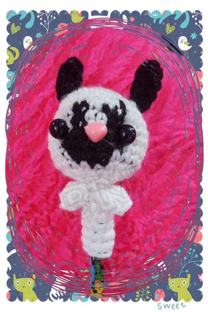 Amigurumi Bunny Pencil Holder : Best bipolar neko crochet images on pinterest