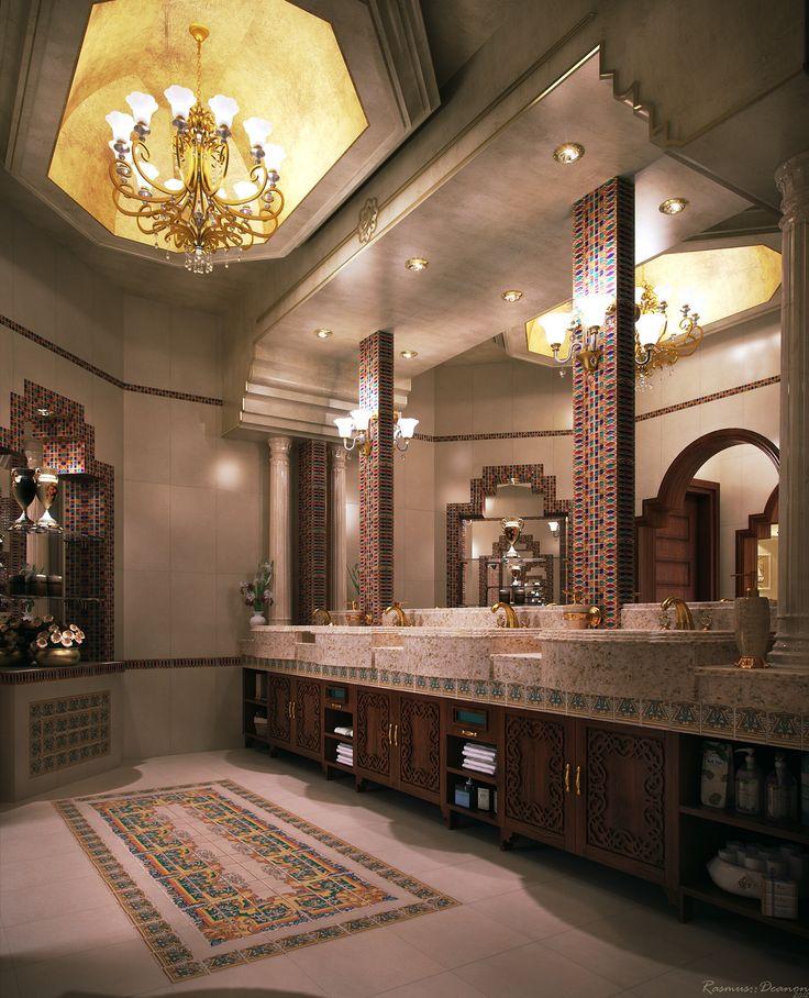 Majlis Wash & Toilet (Moroccan/Arabic Style) on Behance