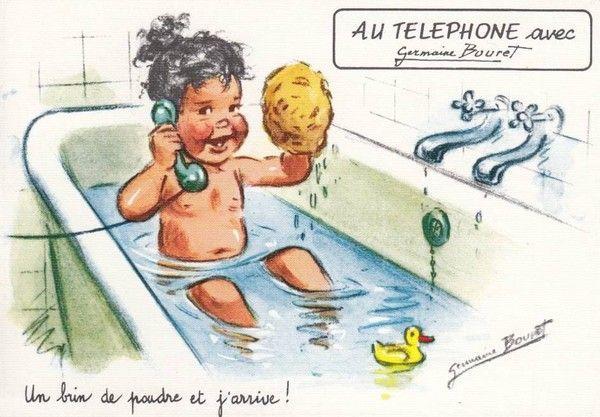 """Germaine Bouret """"Un brin de poudre et j'arrive ! """""""