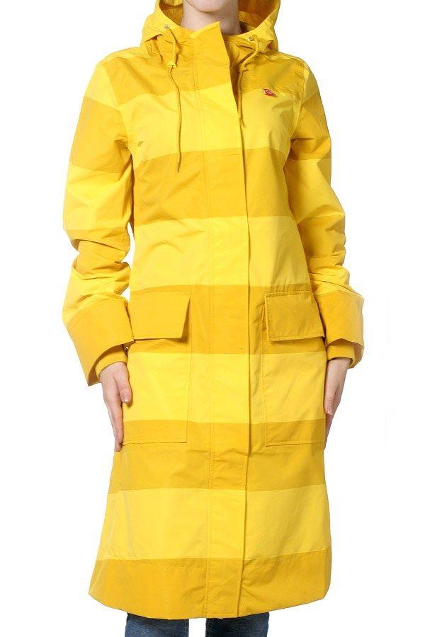 Danefæ - regnfrakk - Højvande - Yellow stripe fra Danefæ