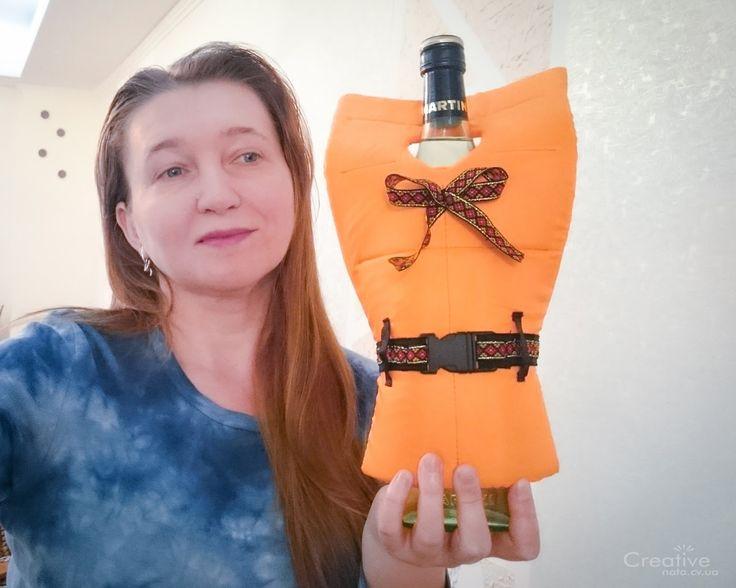 Спасательный жилет для бутылки вина - creative