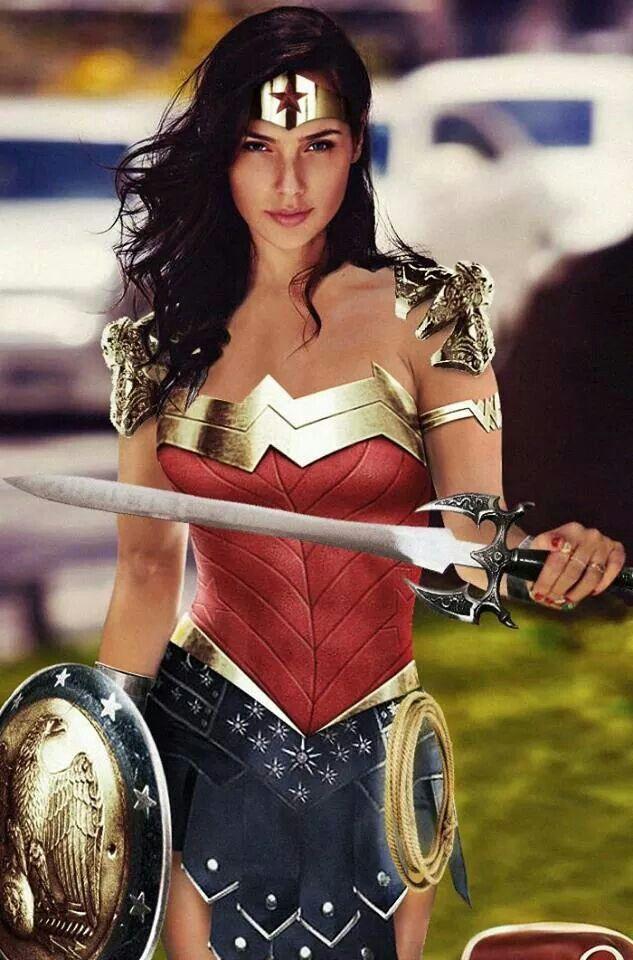 Wonder Woman - Gal Gadot - Mujer Maravilla