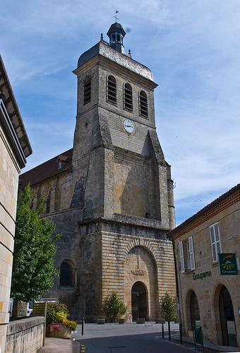 Eglise Saint-Sauveur à Figeac © PhillipC
