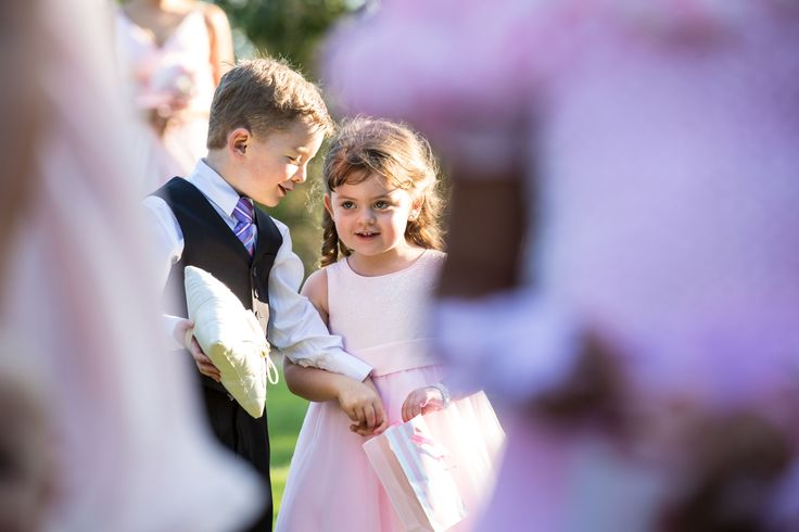 Paige boy and flower girl