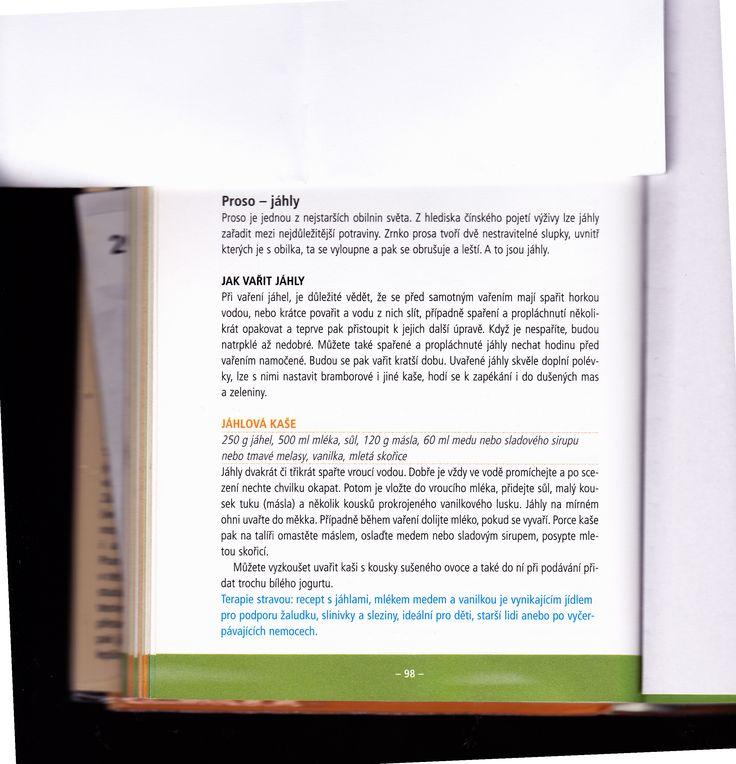 Jáhlová kaše a jak vařit jáhly