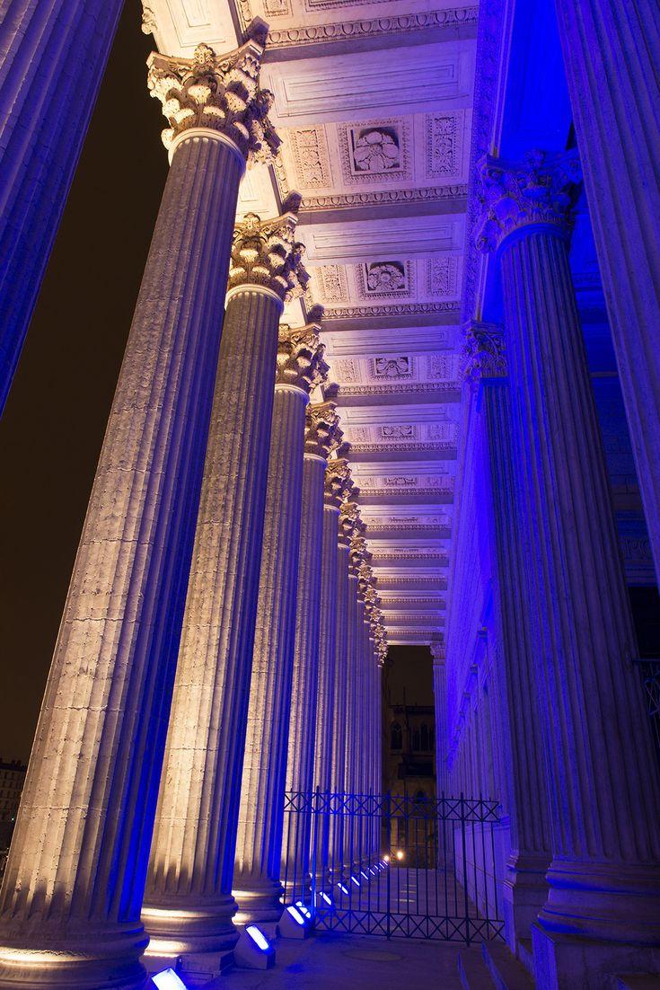 Palais de Justice, Lyon, France - Mise en lumière, Ville de Lyon, DEP, Jérôme Donna © M. Djaoui