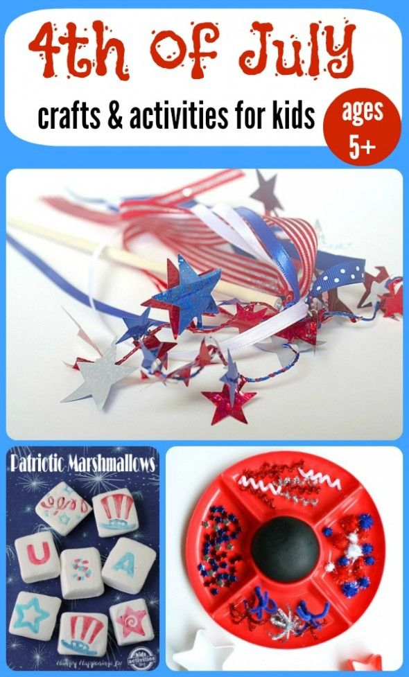 4th of July Crafts and Activities for Kids
