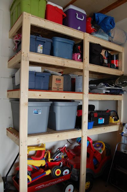 Build Your Own Garage Storage Solutions - WoodWorking ...