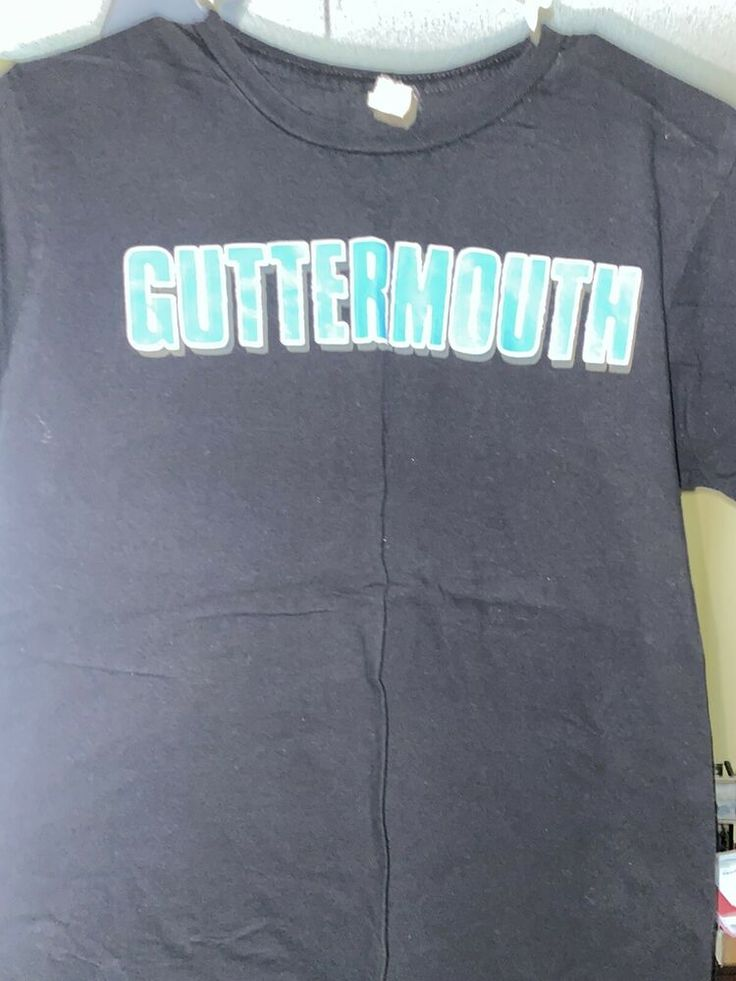 Guttermouth Merch Band T Shirt Medium Vandals Face To Face
