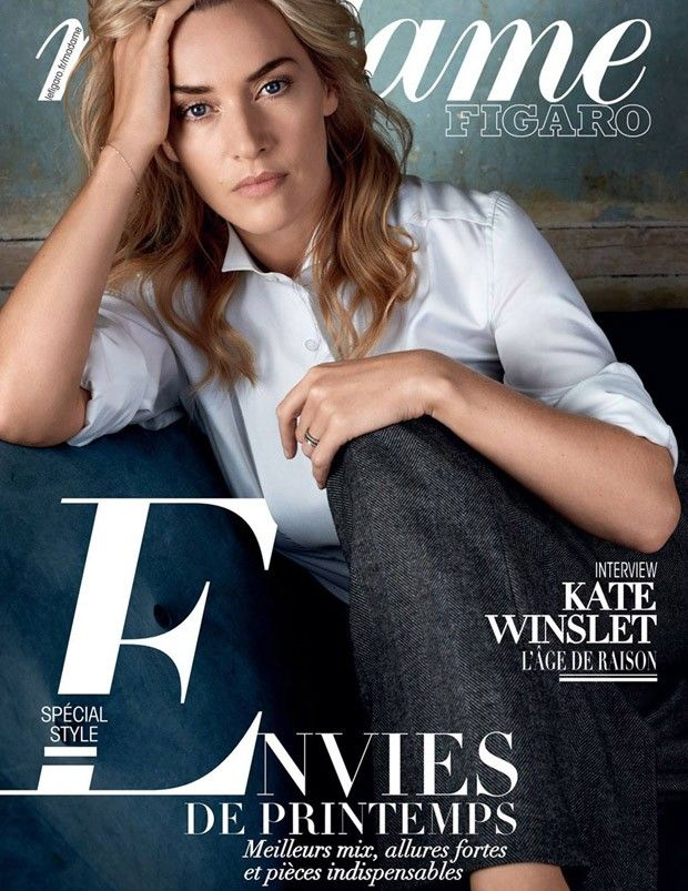 'Spécial Style' - British actress Kate Winslet for Madame Figaro by Alexi Lubomirski