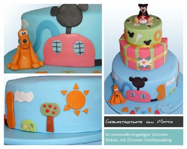 Birthday Cake Micky Mouse - Topolino
