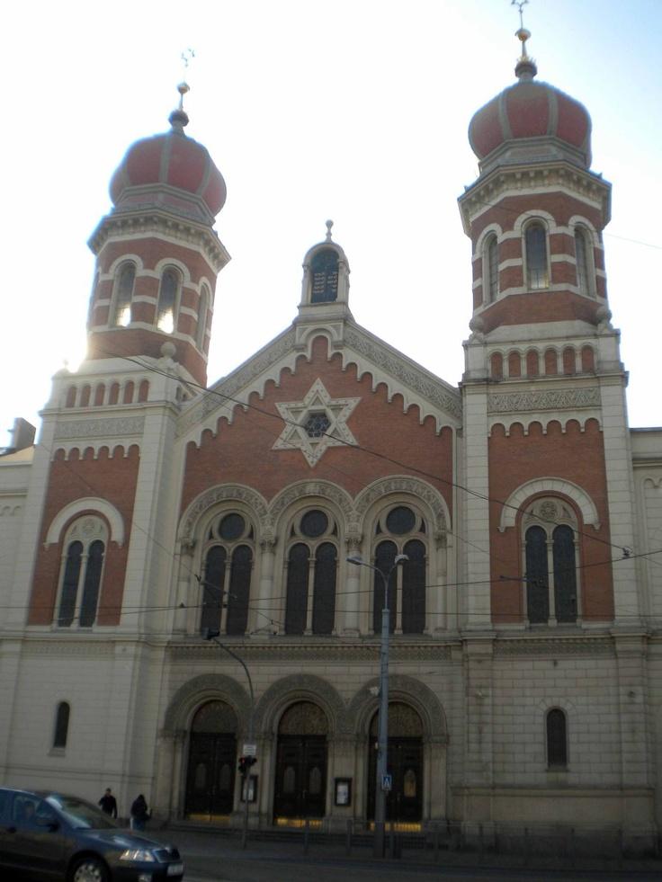 La Gran Sinagoga, Pilsen