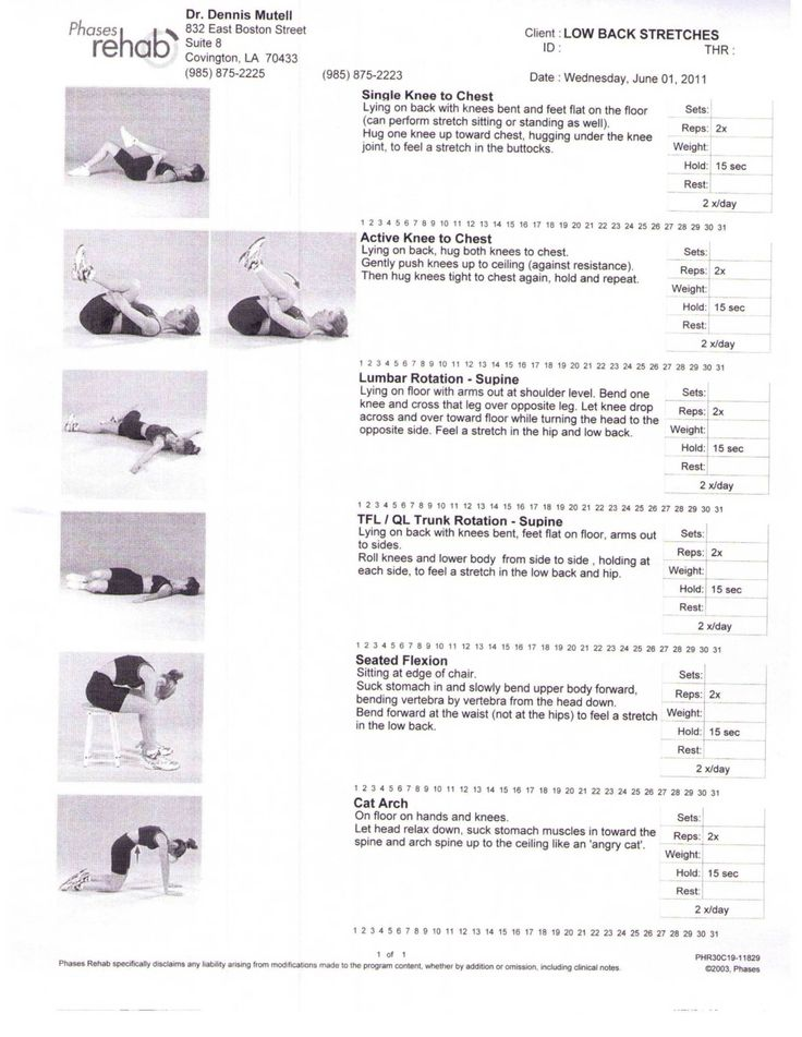 How To Stretch Lower Back Pain Low Back Stretches - Health n Wellness Solutions