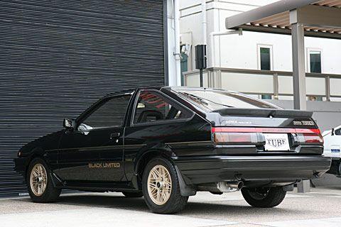 AE86トレノ・3ドア1600GT-APEXブラックリミテッド[T1415]詳細--AE86専門店・チューブガレージ--