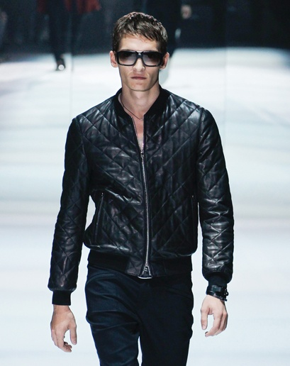 17 Best images about Gucci on Pinterest | Black leather bomber ...