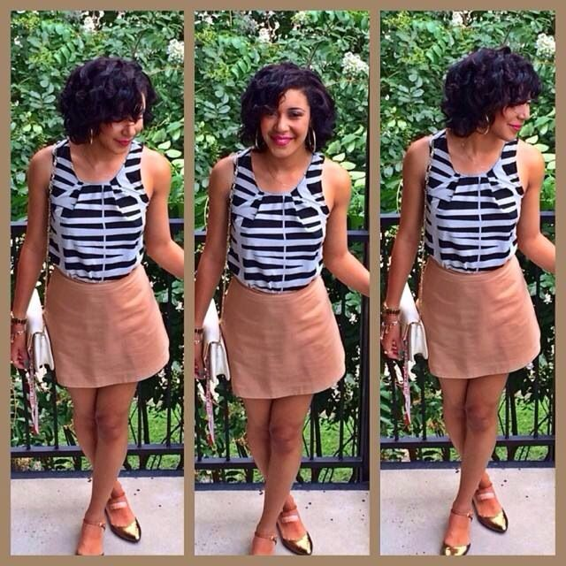 Summer hair transitioning hair flexi rod hair summer outfit skirts for summer zebra print gold sandals love summer
