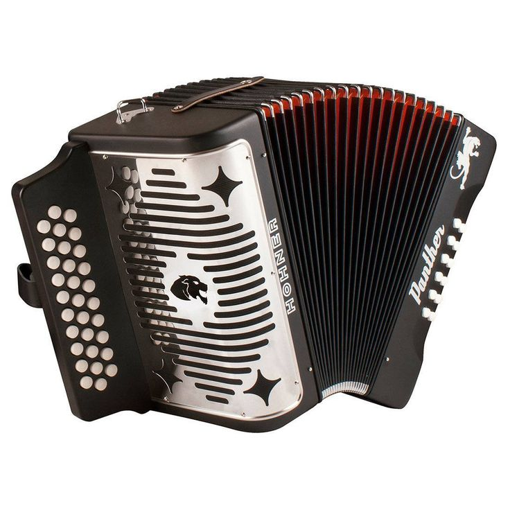 Hohner - Panther - 3-Row FBE Diatonic Accordion