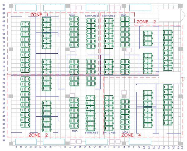 Data Center Room Floor Tile Cutouts : Datacenter floor tiles visio stencil gurus