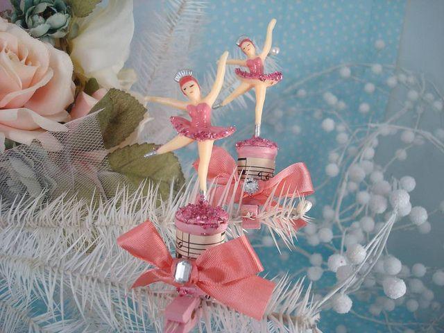 Gorgeously girly vintage shabby chic sweet ballerina for Ballerina decoration