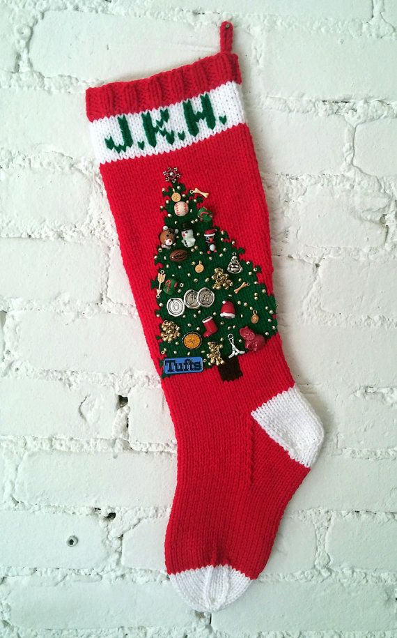 Handknit Christmas stockings make excellent gifts -- for the holidays, of course, but also throughout the year for weddings, new babies,