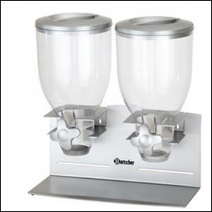 Dispenser erogatore di cereali a 2 campane/Cereal dispenser da 3,5 litri - 122,00€ - SuQui Shopping by saturnostore