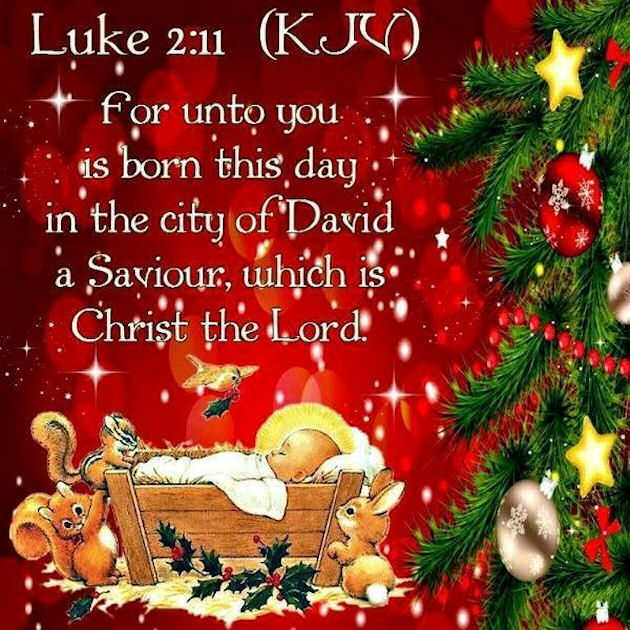 Luke 2:11-14 For unto you is born this day in the city of David a Savior who is Christ the Lord Quote christmas merry christmas christmas quotes seasons greetings religious christmas quotes cute christmas quotes happy holiday christmas quotes for facebook christmas quotes for friends christmas quotes for family